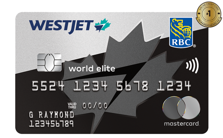 WestJets RBC World Elite Mastercard