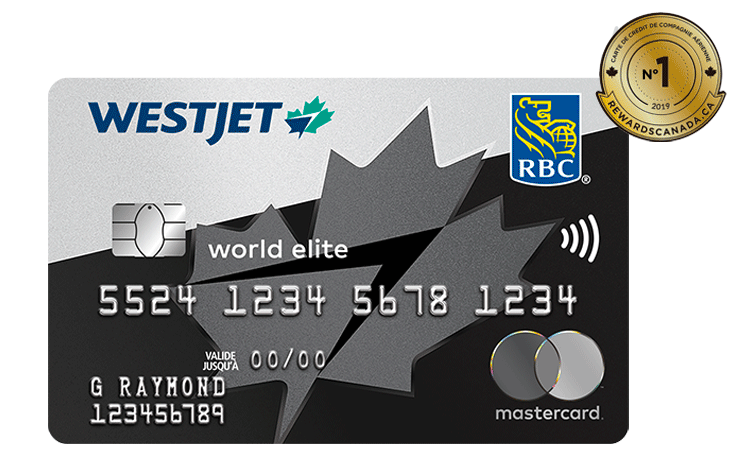 WestJet World Elite MasterCard RBC