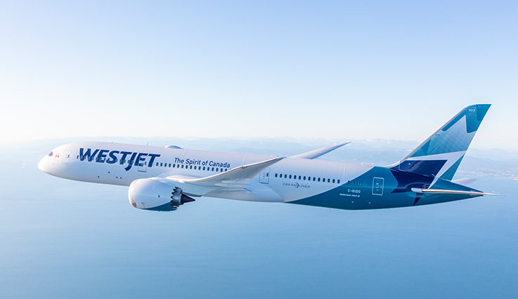 787 Spirit of WestJet