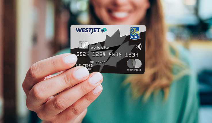 La carte WestJet World Elite MasterCard RBC®‡.