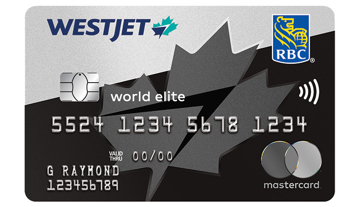 WestJet RBC World Elite Credit card art