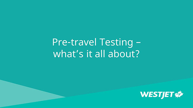 Pre-travel testing – what's it all about?