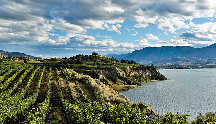 Lake Okanagan in Kelowna