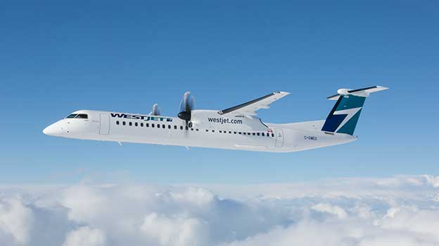 WestJet to temporarily suspend service to four domestic stations