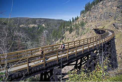 Showing slide 5 of 20 in image gallery, kelowna-british-columbia_trestles-myra-canyon