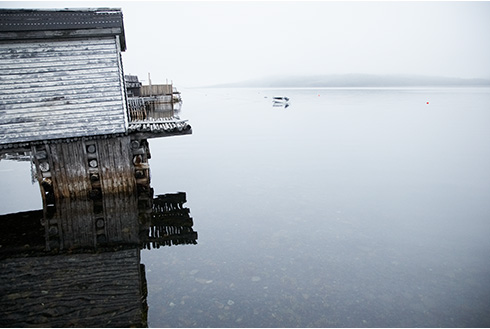 Showing slide 8 of 18 in image gallery, gander-newfoundland_misty-lake