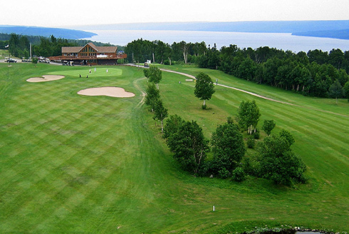 Showing slide 10 of 18 in image gallery, gander-newfoundland_golf-lake
