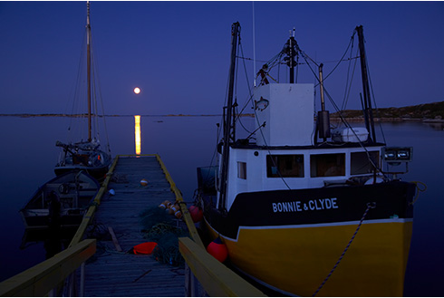 Showing slide 13 of 18 in image gallery, gander-newfoundland_night-boat