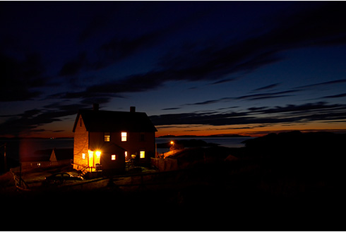 Showing slide 18 of 18 in image gallery, gander-newfoundland_night-waterfront