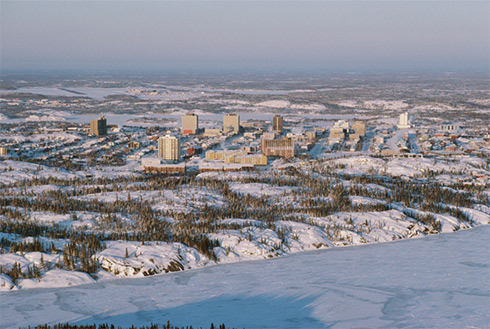 Showing slide 12 of 28 in image gallery, Yellowknife