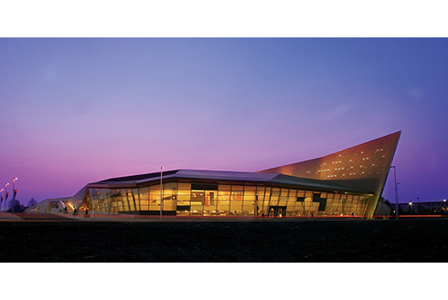 Showing slide 7 of 21 in image gallery, The Canadian War Museum building in Ottawa