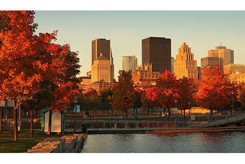 Showing slide 2 of 22 in image gallery, montreal-quebec_old-port-montreal-fall