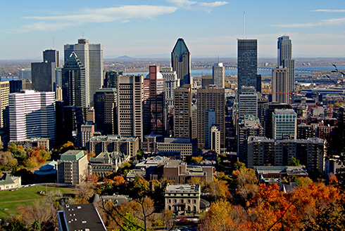 Showing slide 4 of 22 in image gallery, montreal-quebec_skyline