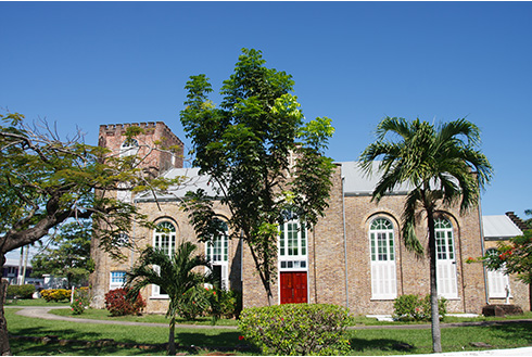 Showing slide 2 of 8 in image gallery, Saint Johns Church Anglican near Belize City in the daytime