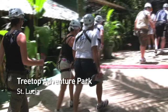 Showing slide 3 of 37 in image gallery, Zipline & Mountain Biking, Treetop Adventure Park