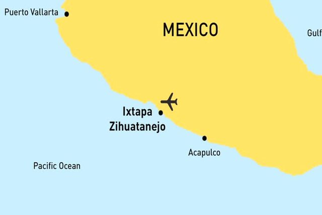 Ixtapa Mexico Pacific Westjet: Where Is Ixtapa Mexico On The Map At Infoasik.co