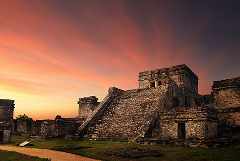 Showing slide 6 of 23 in image gallery, riviera-maya_castillo-fortress
