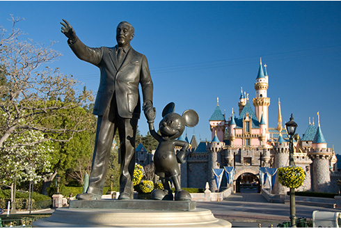 Showing slide 12 of 16 in image gallery for Disneyland Resort in California