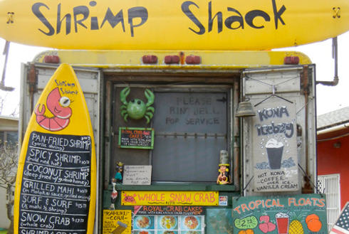 Showing slide 6 of 24 in image gallery, Shrimp Shack food truck Oahu