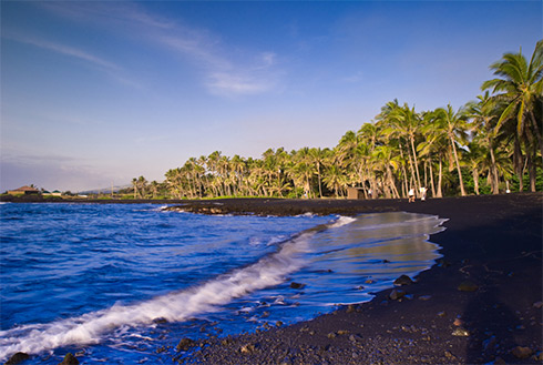 Showing slide 3 of 23 in image gallery, Beach, Kona, Hawaii