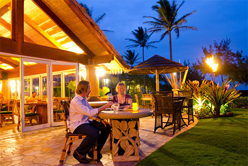 Showing slide 12 of 41 in image gallery, Outdoor dining, Lihue, Kauai