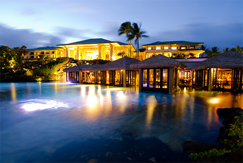 Showing slide 13 of 41 in image gallery, Tidepools Grand Hyatt Kauai Restaurant, Koloa, Hawaii