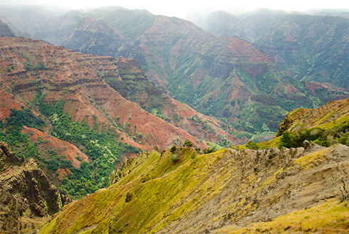 Showing slide 15 of 41 in image gallery, Waimea Canyon, Waimea, Hawaii