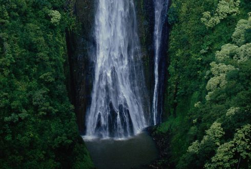 Showing slide 30 of 41 in image gallery, Manawaiopuna Falls (Jurassic Park Falls), Kauai