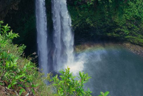 Showing slide 38 of 41 in image gallery, Wailua Falls, Kauai