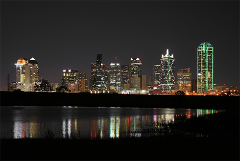Showing slide 7 of 9 in image gallery, Dallas/Fort Worth