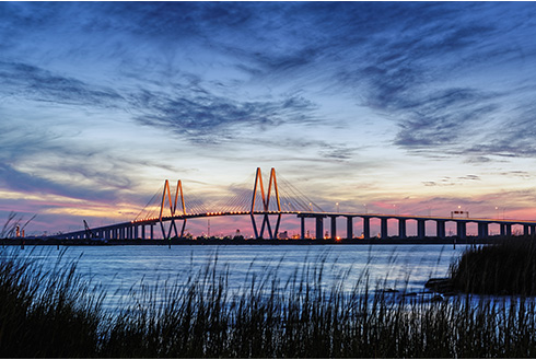Showing slide 4 of 19 in image gallery, houston-texas_fred-hartman-bridge