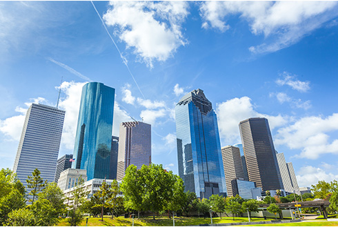 Showing slide 2 of 19 in image gallery, houston-texas_skyline