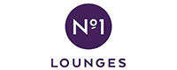 Logo for London Gatwick's No1 Lounge