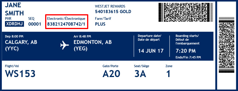 Where Can You Find Your Westjet Ticket Number Faqs