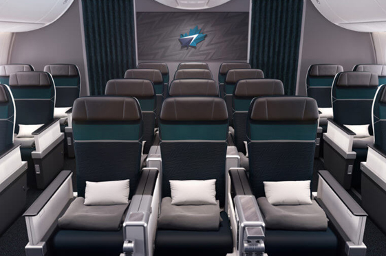 Premium cabin seating