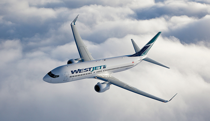 Boeing 737-600, 737-700, 737-800 - Our fleet | WestJet official site
