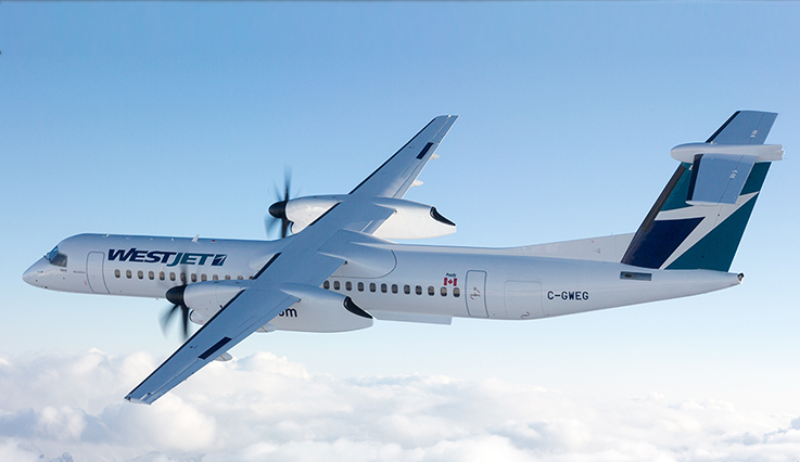 Encore Flights Q400 Turboprop Our Fleet Westjet