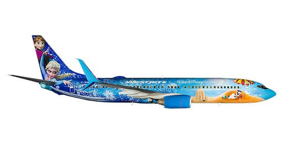 The Magic Plane Our Fleet Westjet