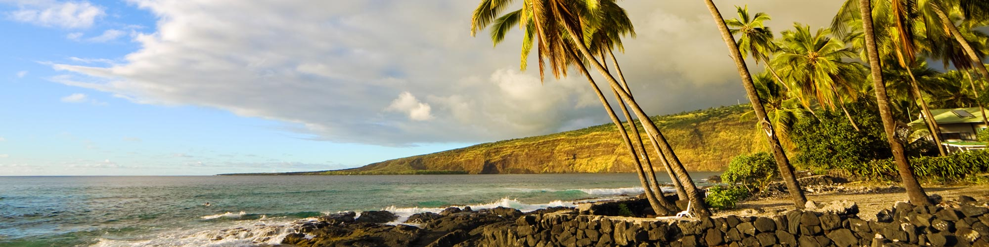 Kona, The Big Island coastline