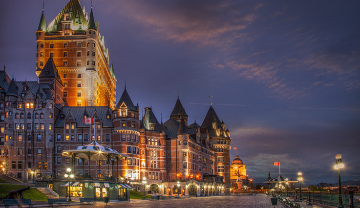 Flights from San Francisco to Quebec City