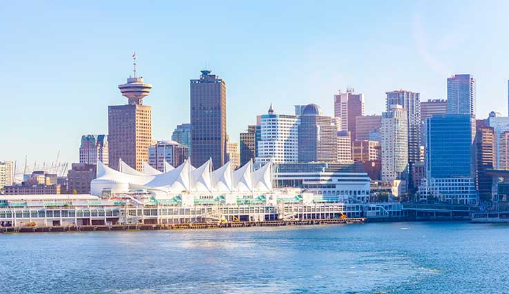 Flights from Orlando to Vancouver