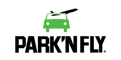 Logotipo del aeropuerto de park and fly