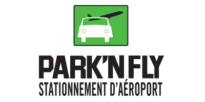 Park and fly airport logo