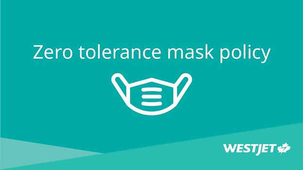 WestJet reinforces commitment to safety with zero-tolerance mask policy
