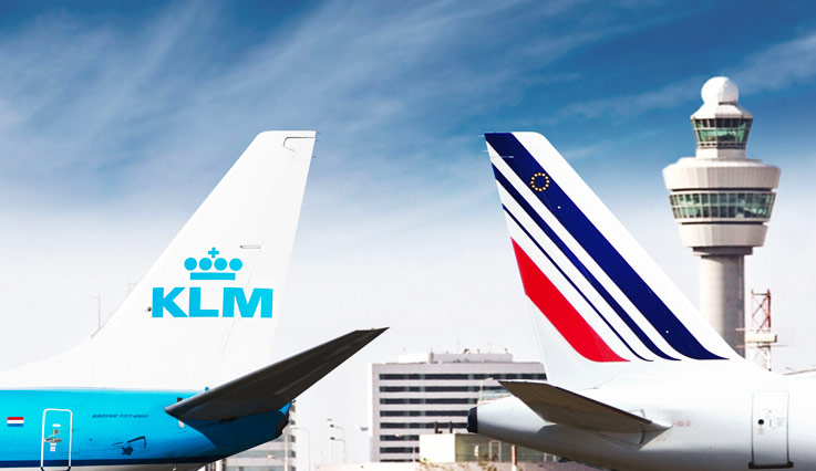 Hallo, KLM. Bonjour, Air France.