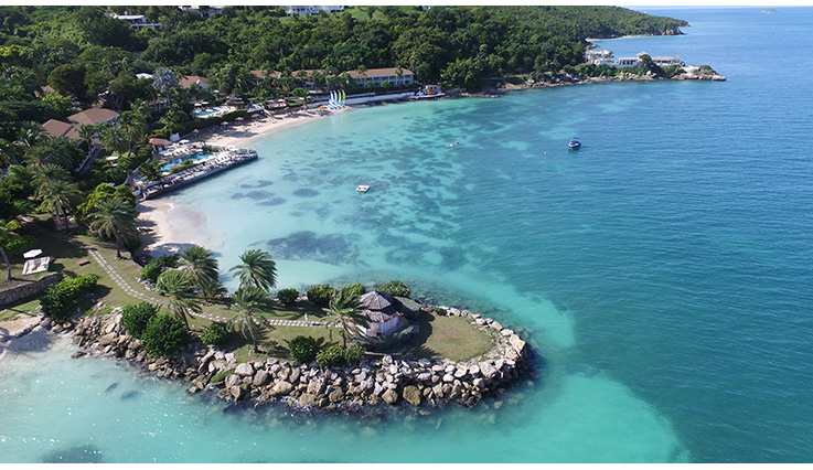 Showing Blue Waters and The Cove Suites Antigua feature image