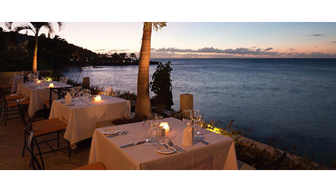 Cove Restaurant Ocean View