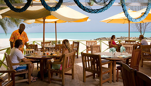 Lydias Beachfront restaurant