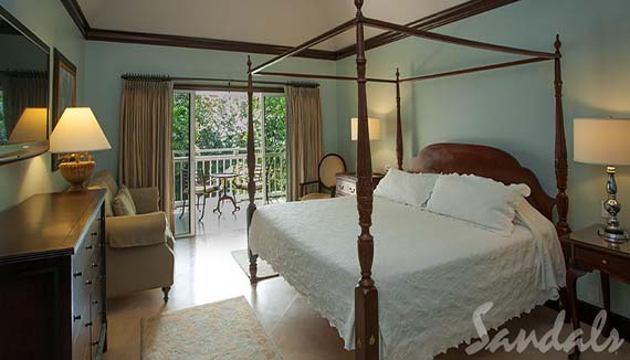 Image showcasing Caribbean Honeymoon Grande Luxe Poolside Room  (HGL)