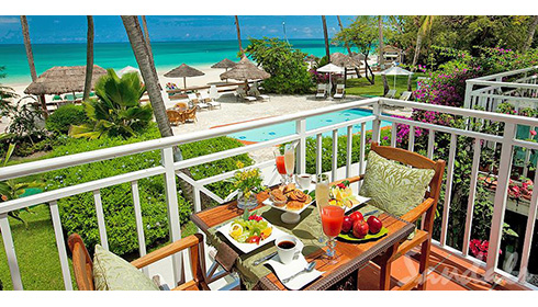 Caribbean Beachfront Grande Luxe Club Level Room (GB)